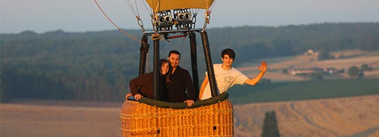 montgolfiere centre atlantique vols en montgolfière commande en ligne - nacelles privatives