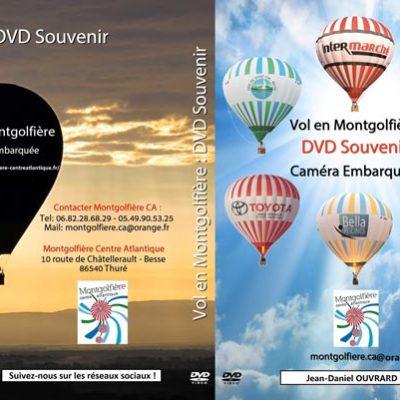 video souvenir vol en montgolfière - montgolfière centre atlantique