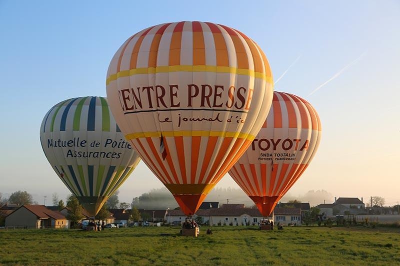 montgolfiere centre atlantique vols en montgolfière commande en ligne compétition