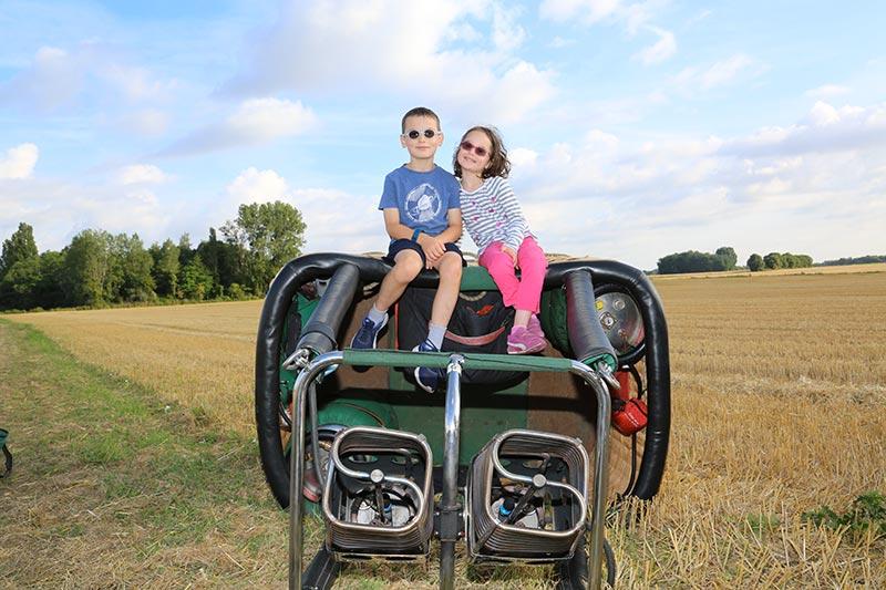 montgolfiere centre atlantique vols en montgolfière commande en ligne enfant