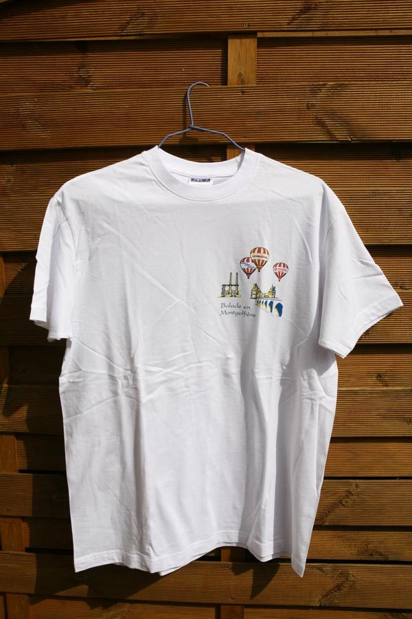 T-shirt Balade en Montgolfière