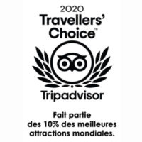 """"""" Félicitations à Montgolfière Centre Atlantique d'être un lauréat Travellers' Choice. Chaque année, nous épluchons les avis, les notes et les favoris des voyageurs du monde entier et nous utilisons ces informations pour récompenser la crème de la crème. Vous faites partie d'un groupe exclusif et nous souhaitons vous aider à célébrer cette réussite majeure ! """""""